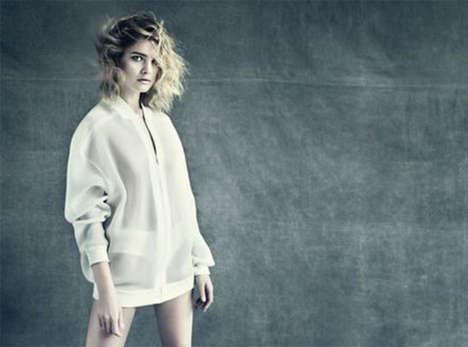 Contemporary Crisp White Fashions