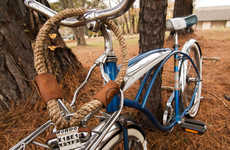 Naturalistic Bike Accessories - The Dalman Supply Company Bike Locks are Made from Hemp