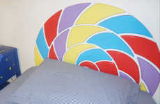 Deliciously Sweet Headboards - The Lollibed by Jellio is Shaped Like a Sweet For Pleasant Dreams