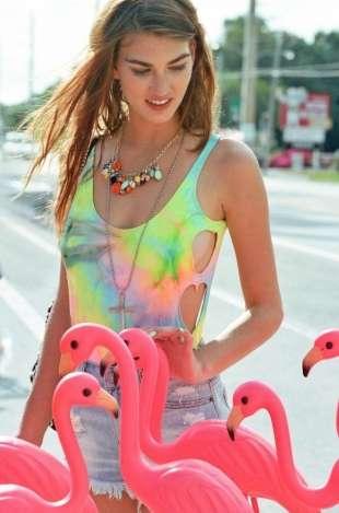 Playful Patterned Swimwear Lines