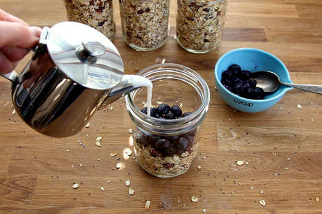 Healthy Breakfast Jars