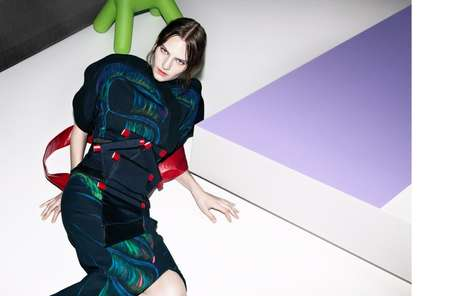 Cyber-Geisha Fashion