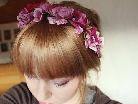 DIY Floral Headbands - These Flower-Accented Headpieces are Simple and Easy to Make