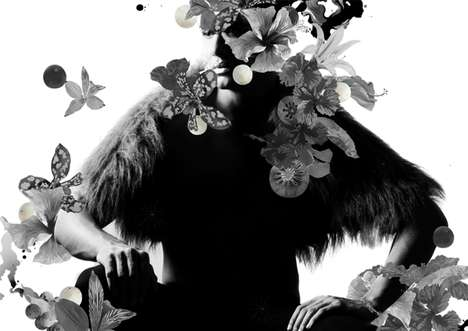 Exploding Floral Fashionography