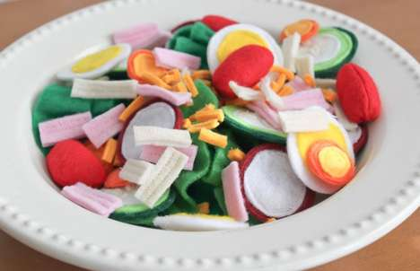 Felt Feast Creations - Heidi Marie Makes Almost Edible Fake Food Delicacies