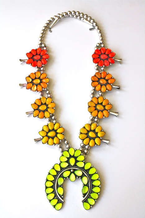Colorfully Blossoming Necklaces