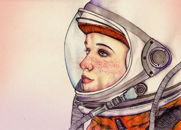 50 Fanciful Space Suit Interpretations