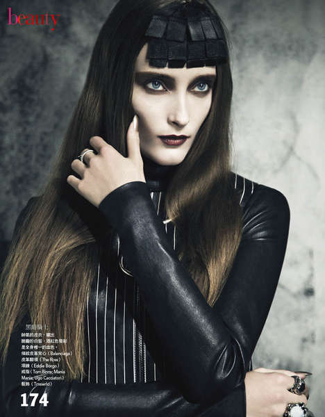 Edgy Leather-Clad Goths