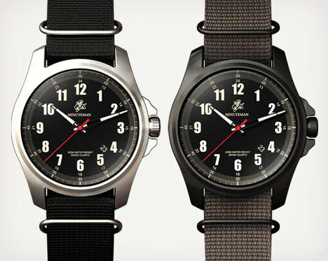 Patriotically Supportive Timepieces