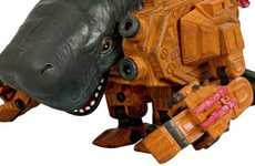 Cyborg Leviathan Toys - The Mechawhale Robot Action Figure Series is Futuristic Fantasy