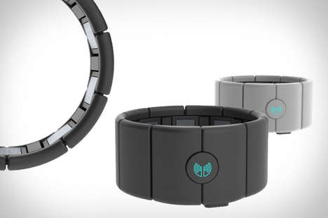 Gesture Control Accessories - The MYO Armband Uses Muscle Activity to Command Computers Wirelessly