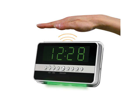 Motion-Sensitive Alarm Clocks