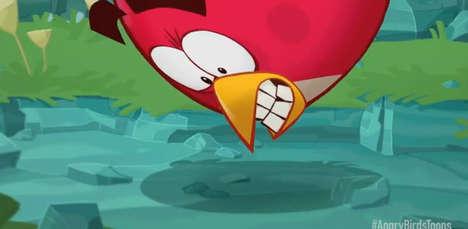 Angry Avian Cartoon Adaptations