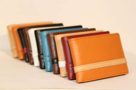 Swipe-Friendly Leather Wallets