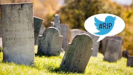 Posthumous Tweeting Apps - The LivesOn App Will Tweet for You After You Kick the Bucket
