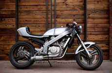 Stainless Steel Motorcycles - The Custom Honda Motorcycle By Bandit9 is Badass