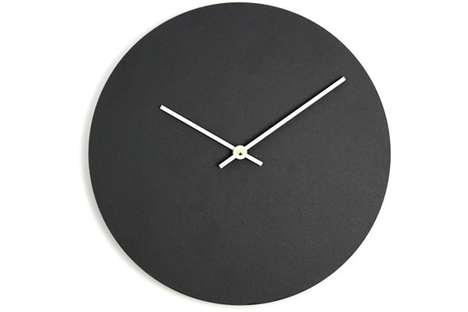 Chalkboard-Faced Clocks