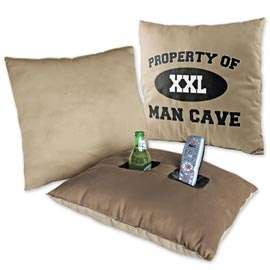 Clever Drink-Holding Cushions