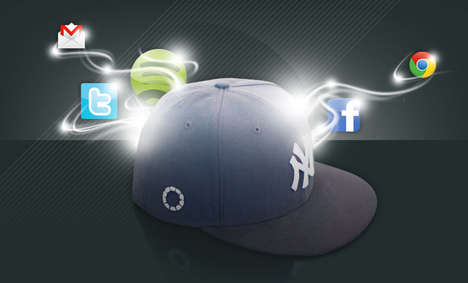 Internet-Enabled Baseball Caps - Capify Snapbacks Connect You to the Web