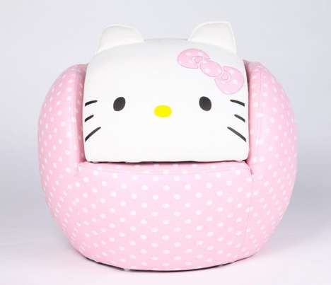 The Hello Kitty Chair is the Perfect Addition to Your Child's Room