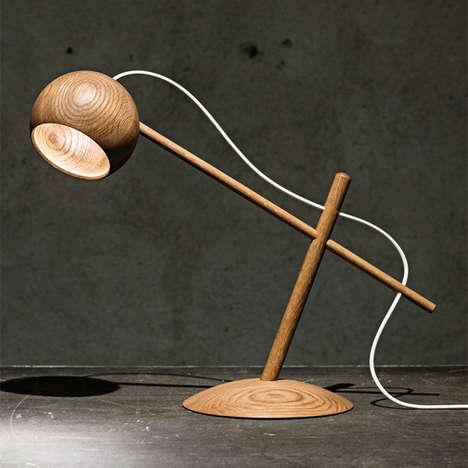 Minimalist Lumber Illuminators