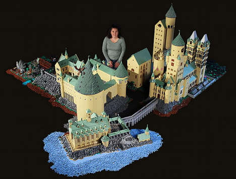 Toy Block-Made Magic Schools