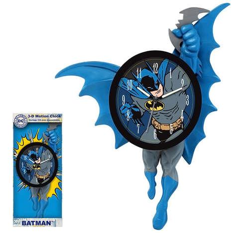 Moving Superhero Timepieces