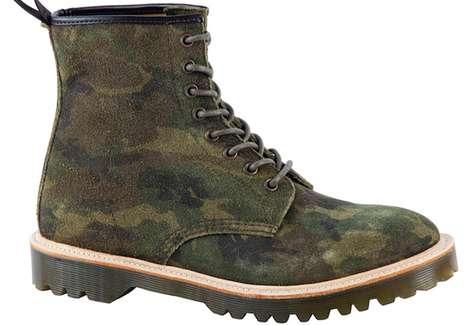 Furry Combat Boots