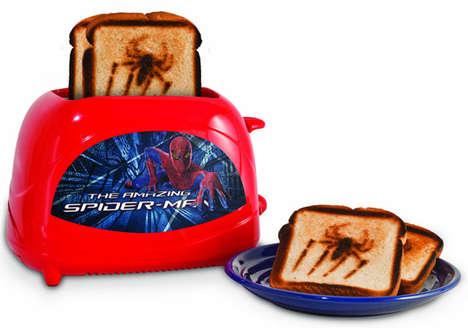 Logo-Stamping Superhero Toasters