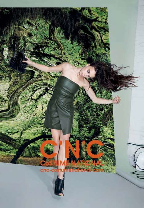 Modern Military Collections - The CNC Costume National Spring Campaign Stars Model Chelsea Tyler