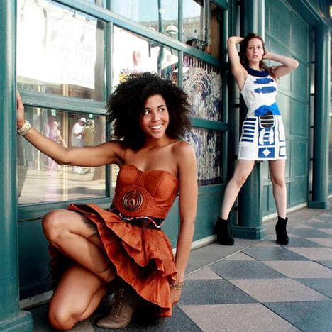 Intergalactic Droid Dresses