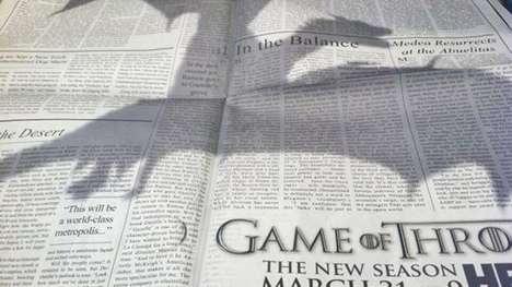 Dragon Shadow Newspaper Campaign