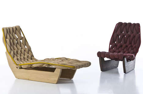 Chunkily Woven Chairs
