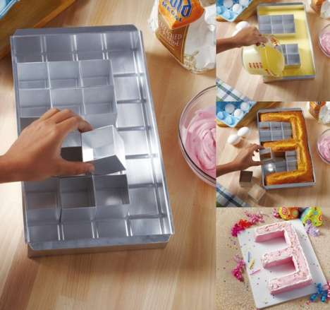 Customizable Baking Pans - This Personalized Cake Pan Allows You to Bake a Cake in Various Ways