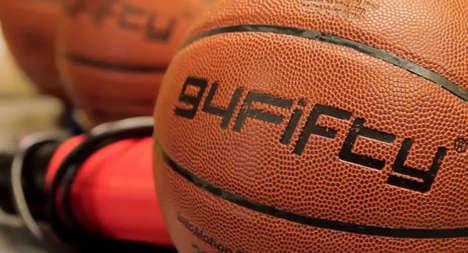 Sensor-Equipped Basketballs