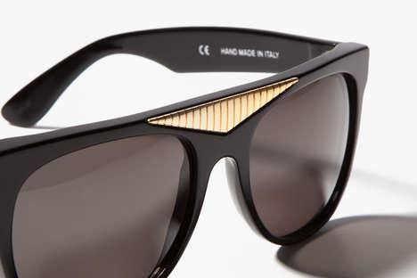 Futuristically Vintage Sunglasses