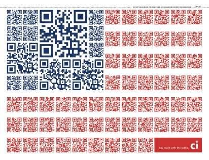 QR Code Flag Ads