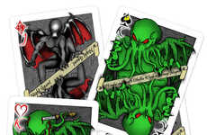 Dark Demon Card Decks - The H.P. Lovecraft Themed Card Deck is Filled with Mystical Creatures