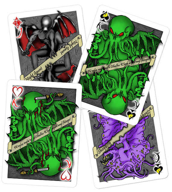 Dark Demon Card Decks