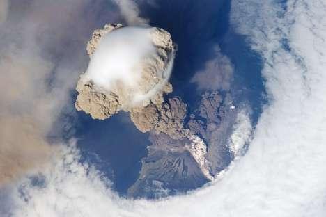 Telescopic Volcano Photography