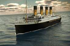 Luxury Liner Recreations - The Titanic II is Set to Sail in 2016 And Will Be an Exact Replica