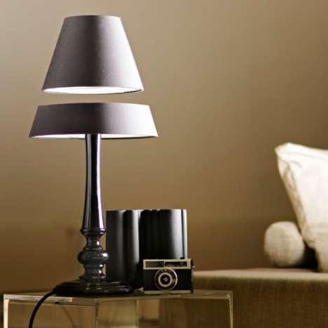 Levitating Lamp Shades