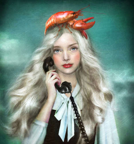 Characteristically Quirky Portraits