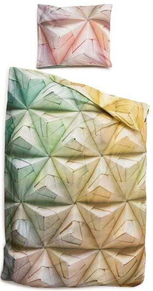 Origami-Inspired Linens