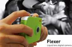 Bendable Lens Photography - The Flexer Digital Camera Can Be Adjusted to Capture Different Angles