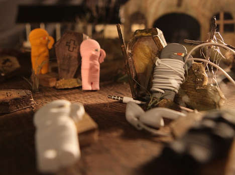 Ancient Mummy Earphone Buddys