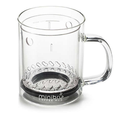 Coffee-Filtering Travel Mugs