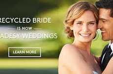 Recycled Nuptial Gowns - Tradesy Weddings Allows One to Purchased Wedding Dresses & Eco Products