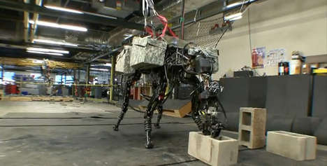 Terrifying Brick-Hurling Robots (UPDATE)