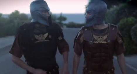 Glamorous Gladiator Fashion Films